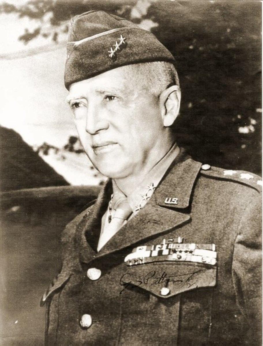 A picture of Patton after the Second World War.