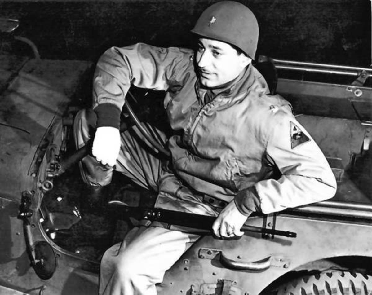 Captain Abraham Baum led his task force on a death ride behind German lines which began March 26, 1945.