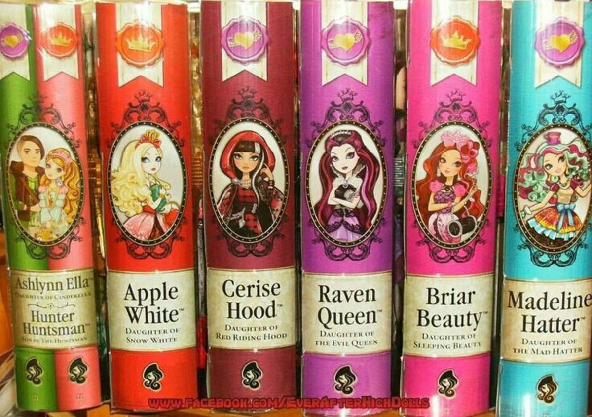Ever After High Book Series   HubPages