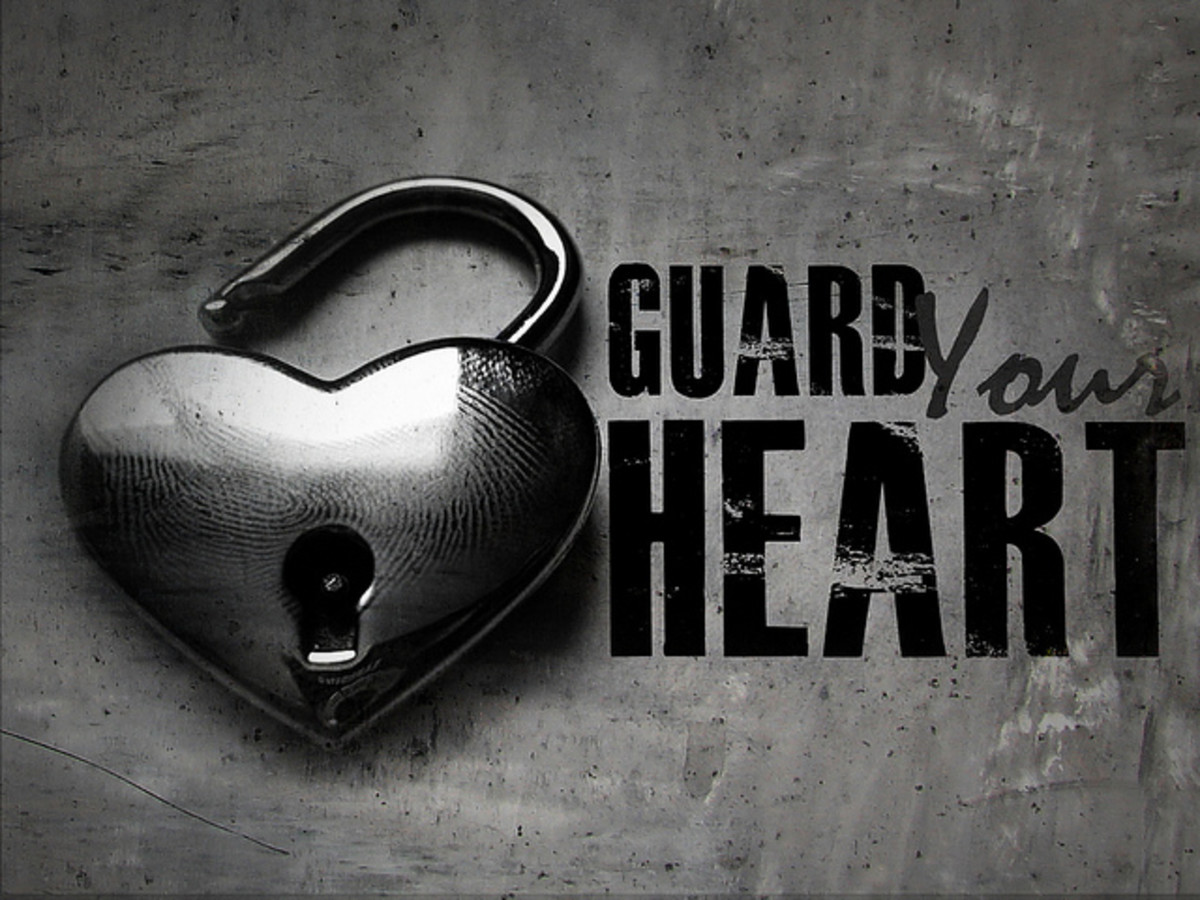 A Christian must guard his heart from sin to avoid spiritual pollution