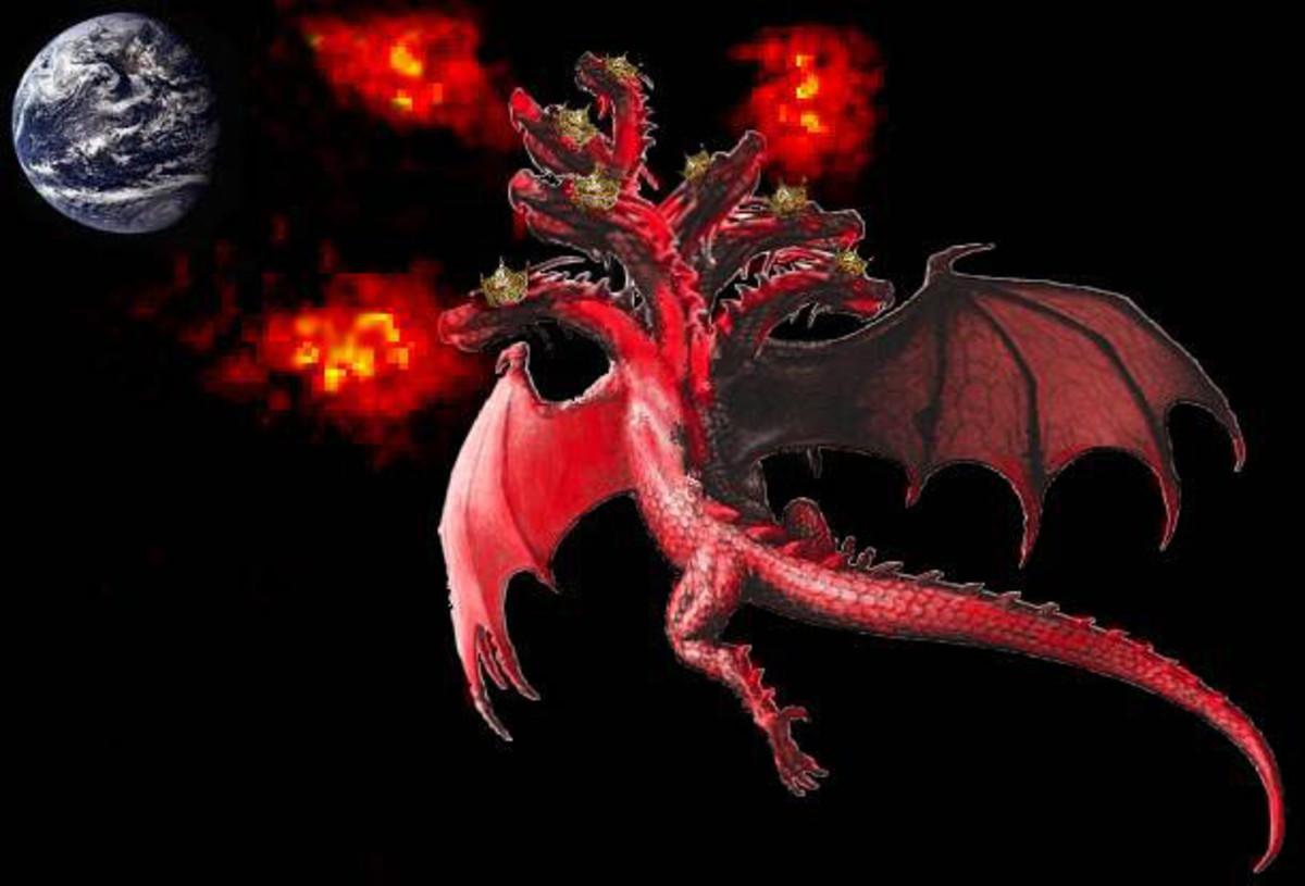 Satan, the dragon, the origin of the spiritual garbage