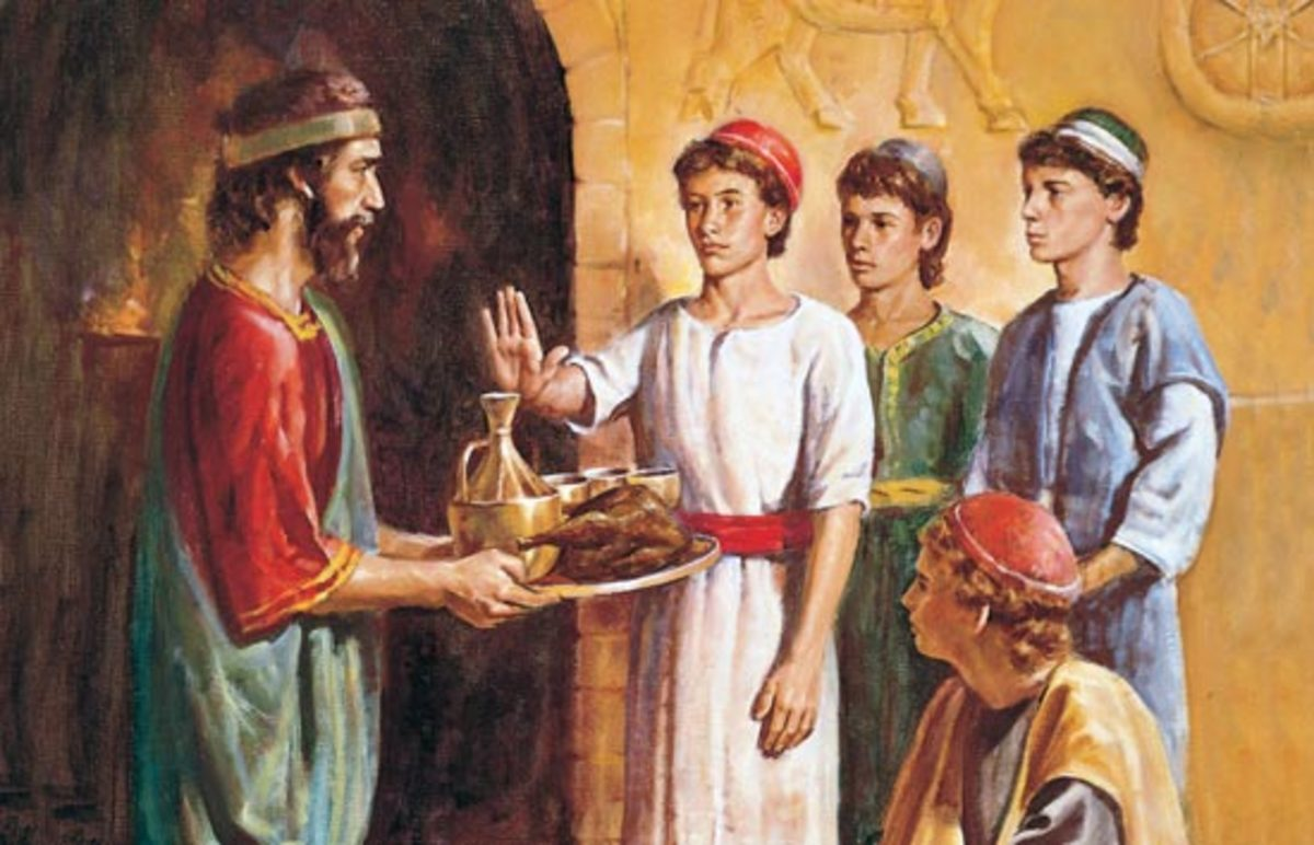 Daniel and his friends say no to spiritual pollution