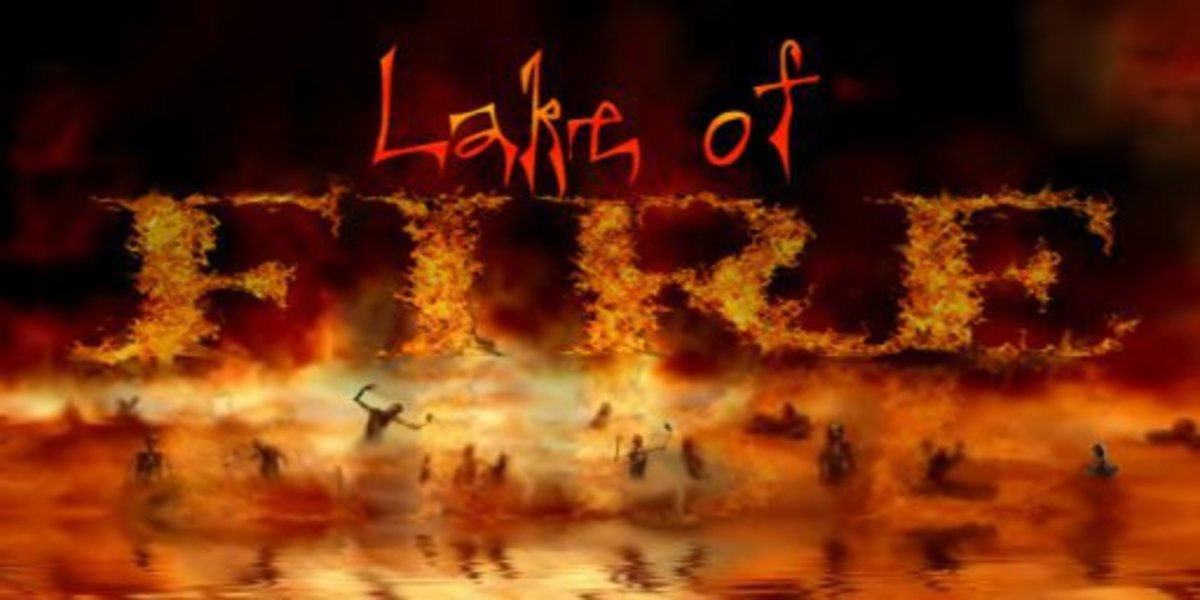 Sin brings eternal death, the second death, the lake of fire