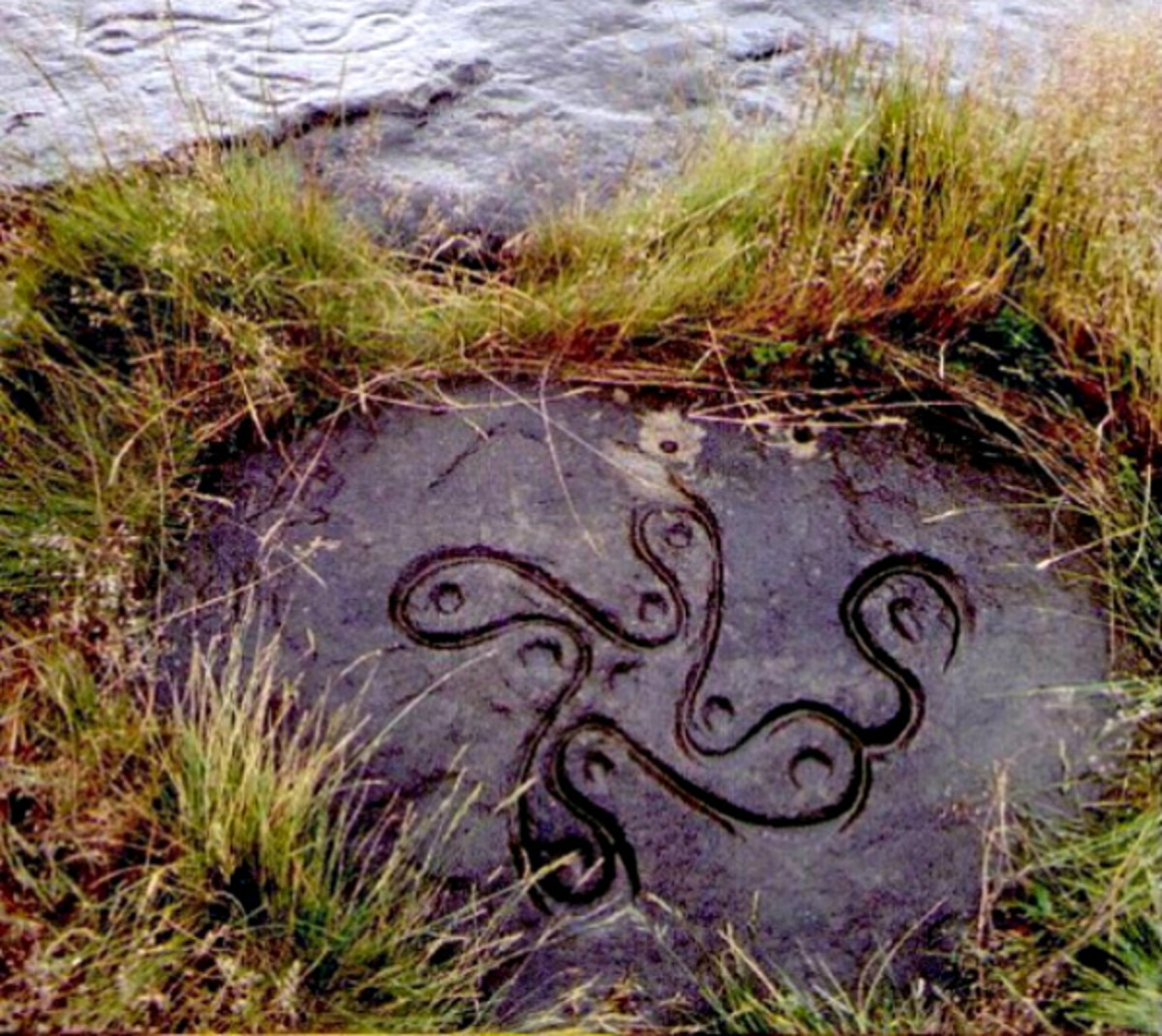 Oldest Swastika Celtic Cross Found Ilkley Moor, England