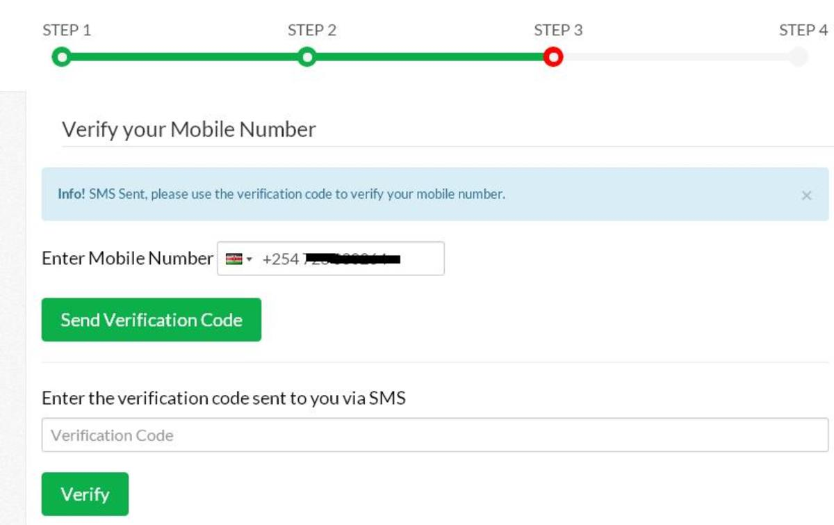 Mobile Number Verification When Renewing Driving License
