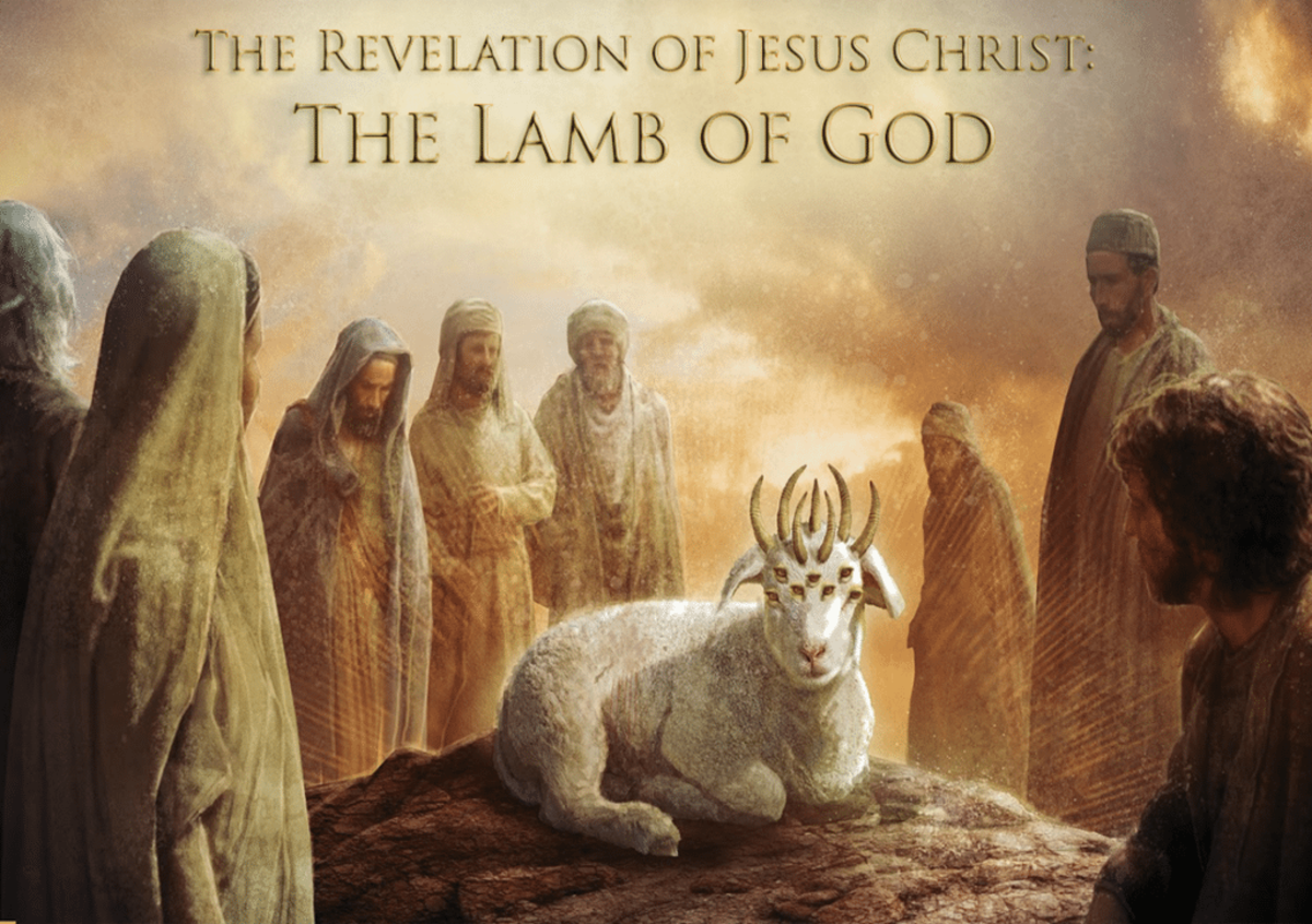 The perfect Lamb of God.