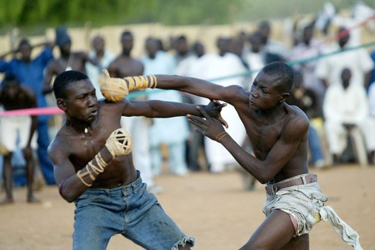 The tough sport of Dambe boxing