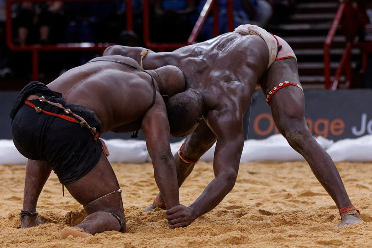 Dambe boxing has its origin from traditional wrstling
