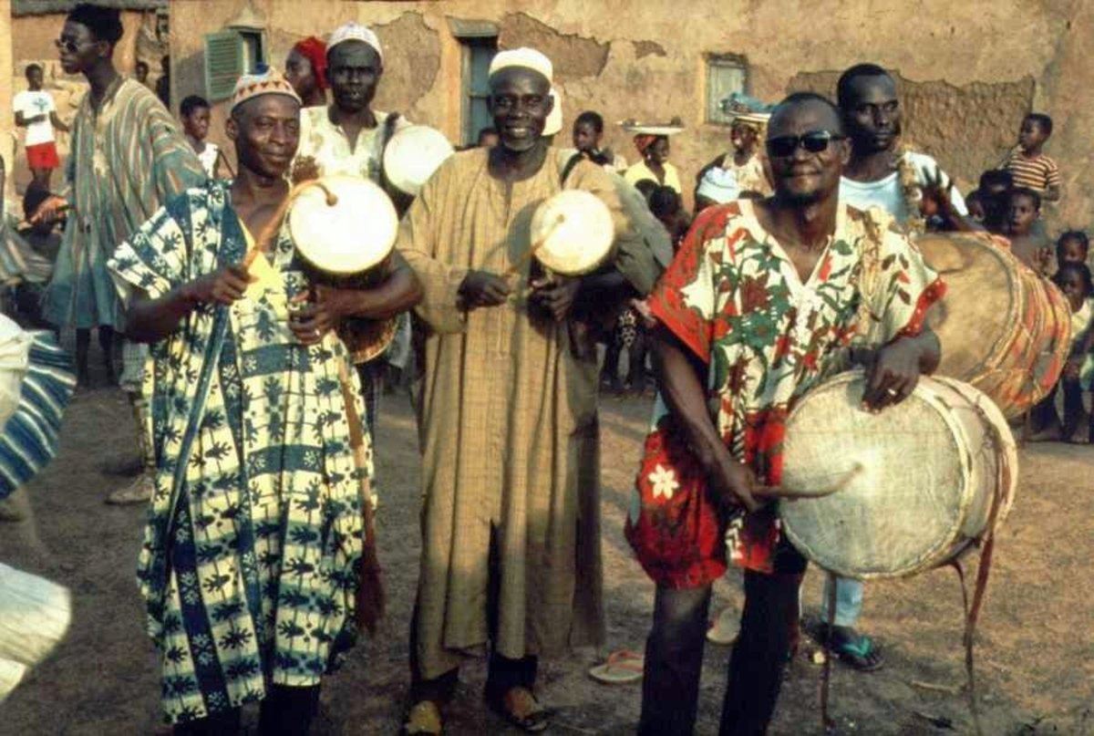 Hausa drummers