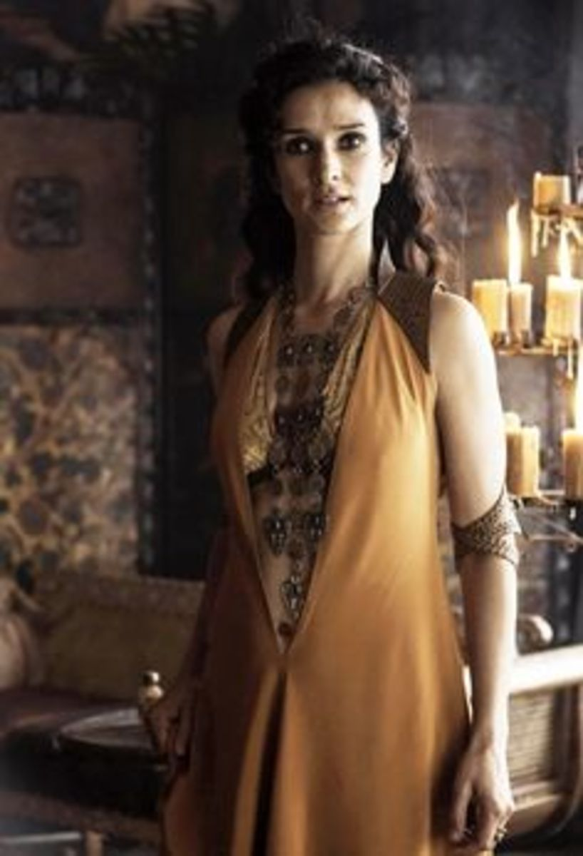 Indira Varma as Ellaria Sand