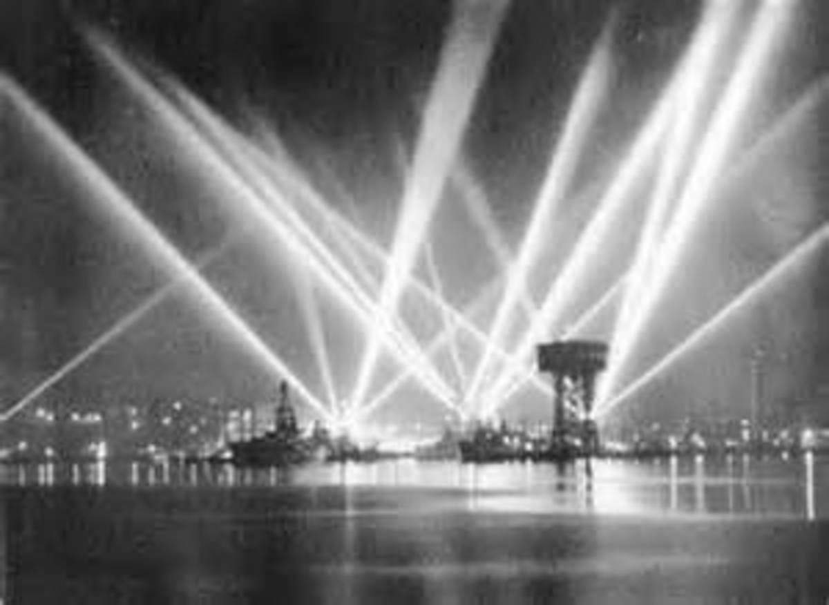 L.A. Harbor During the Battle of Los Angeles