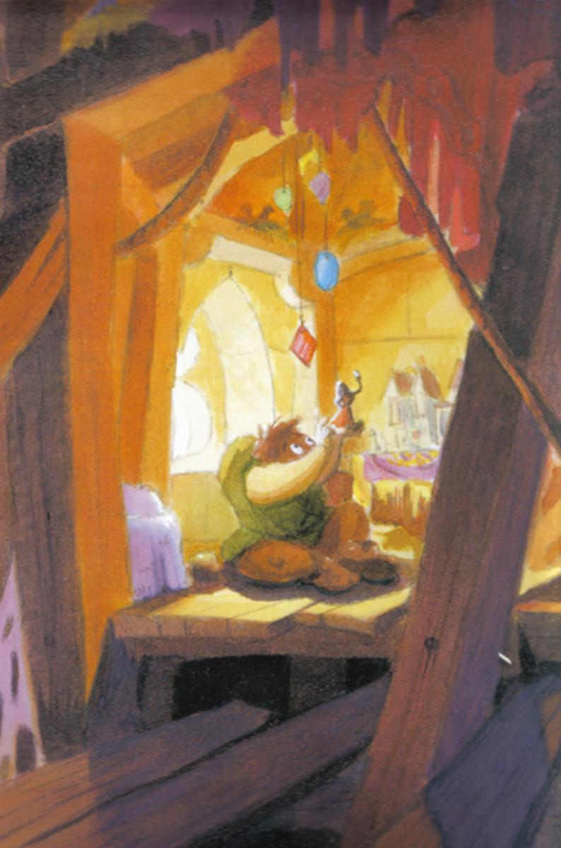 Concept of Quasimodo, Disney Version