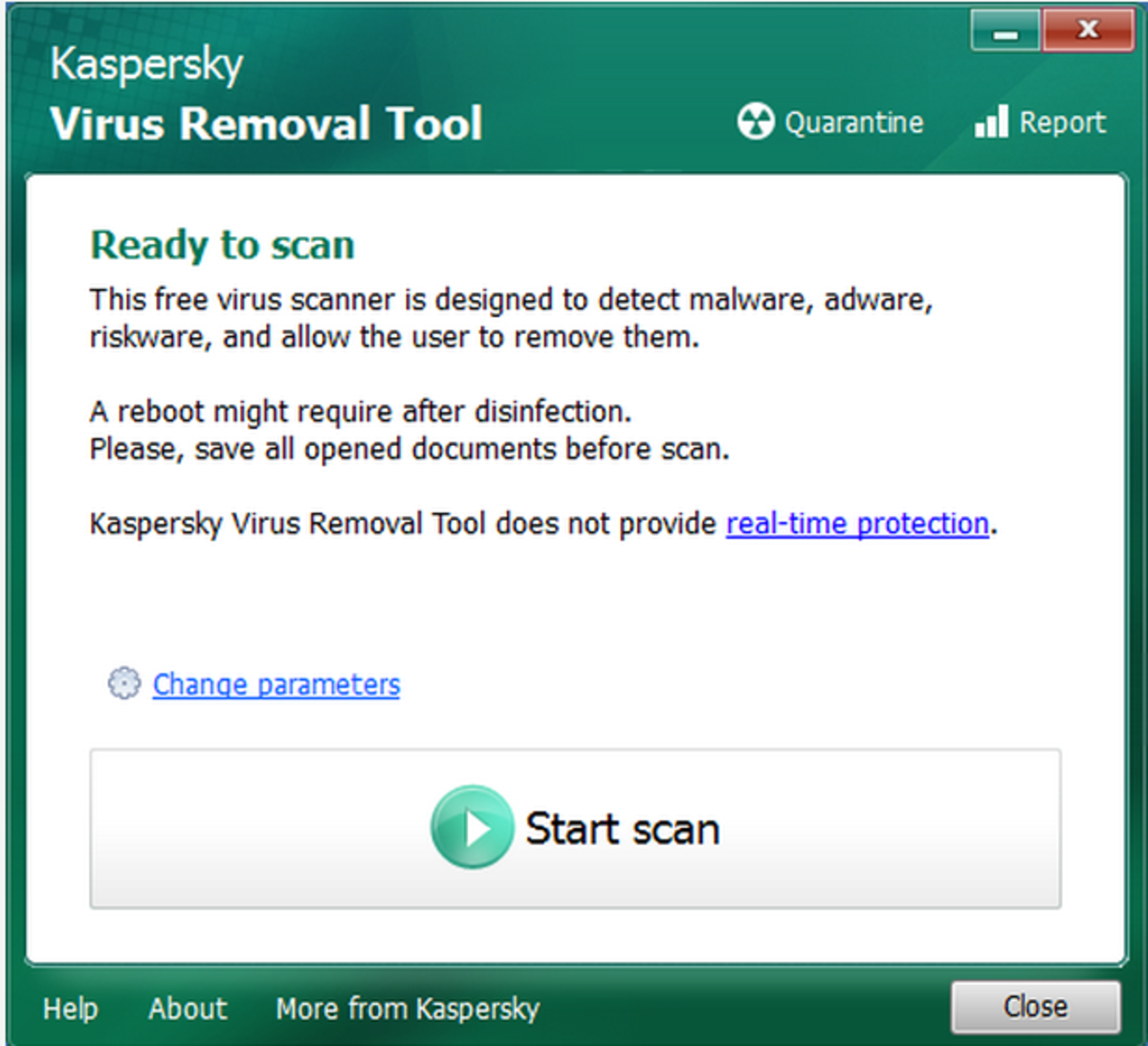 Picture for Kaspersky Virus remove Tool 2015
