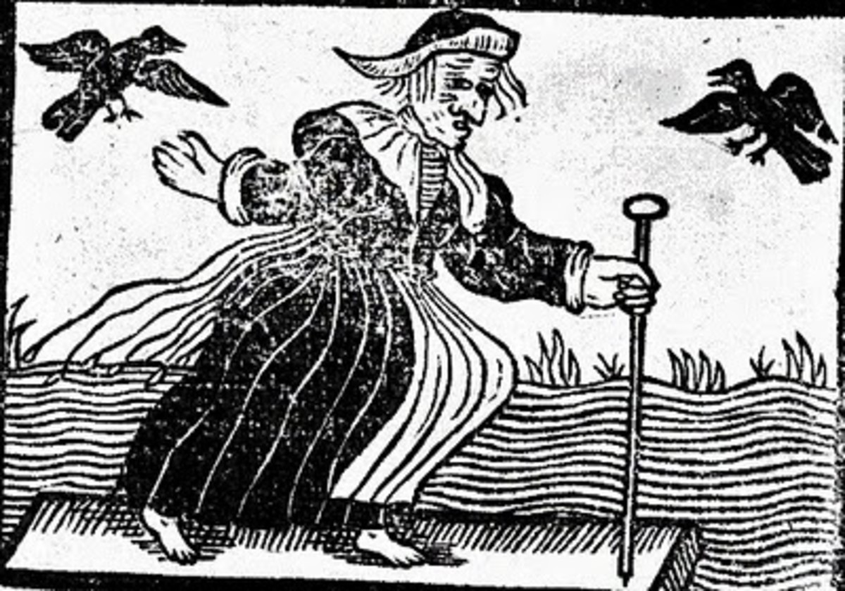 A seventeenth-century witch