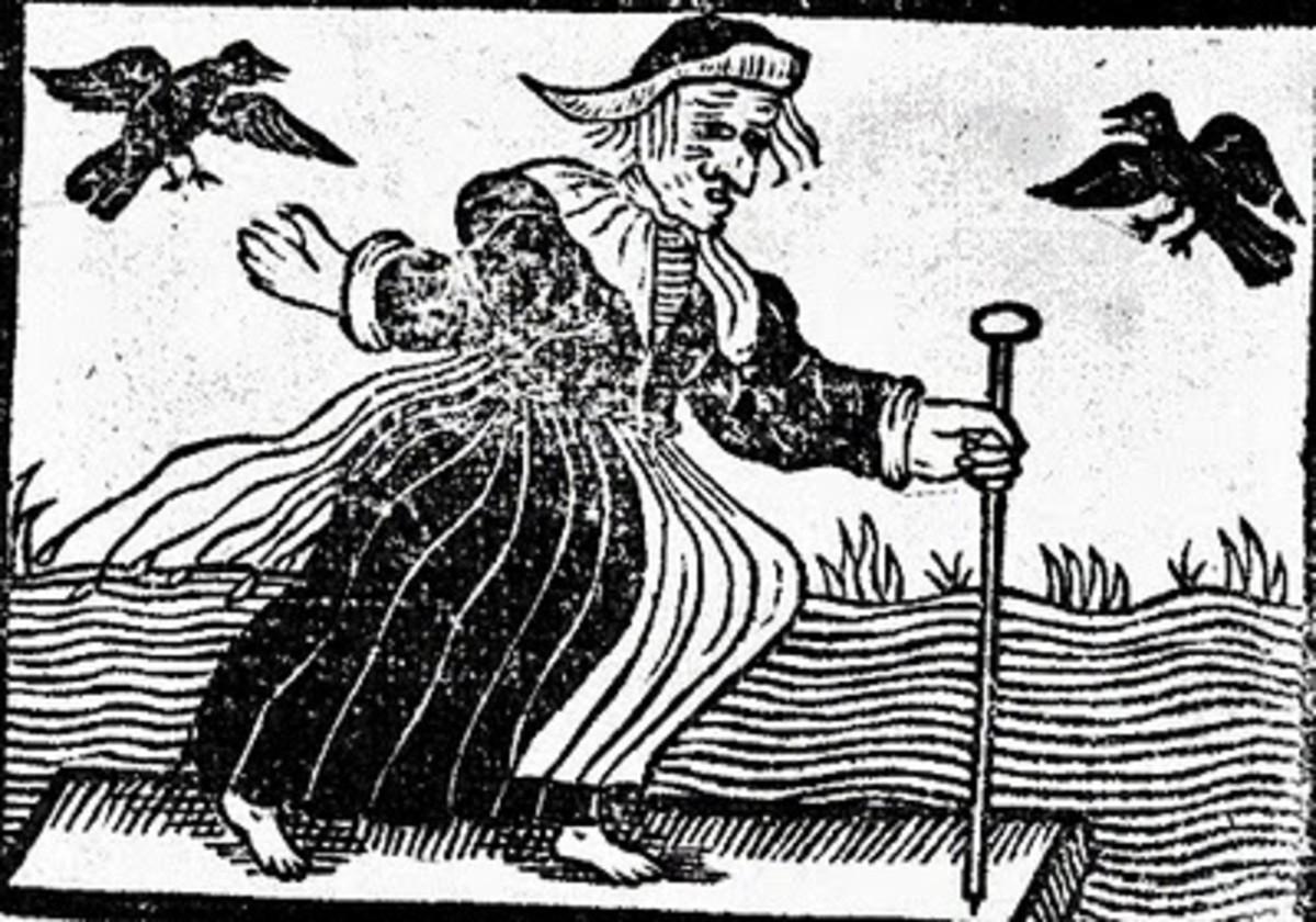 A seventeenth-century witch
