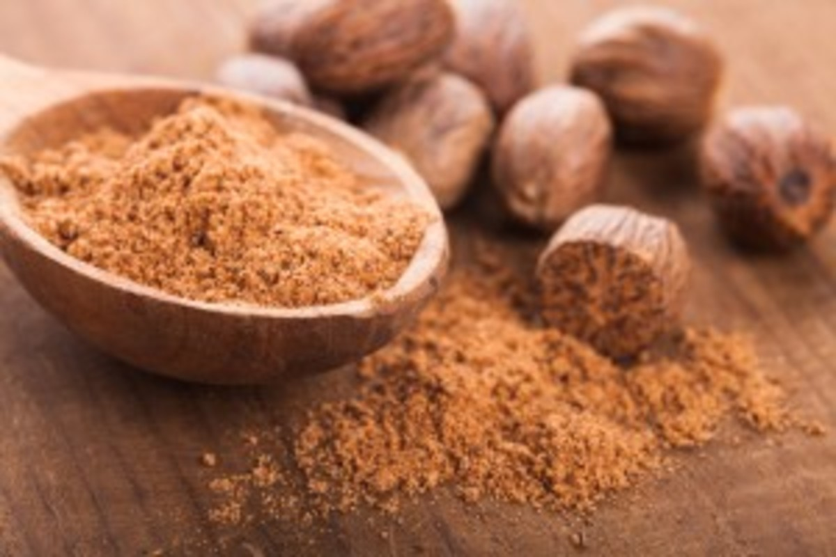 Nutmeg. Adding spice to life... in many ways.....