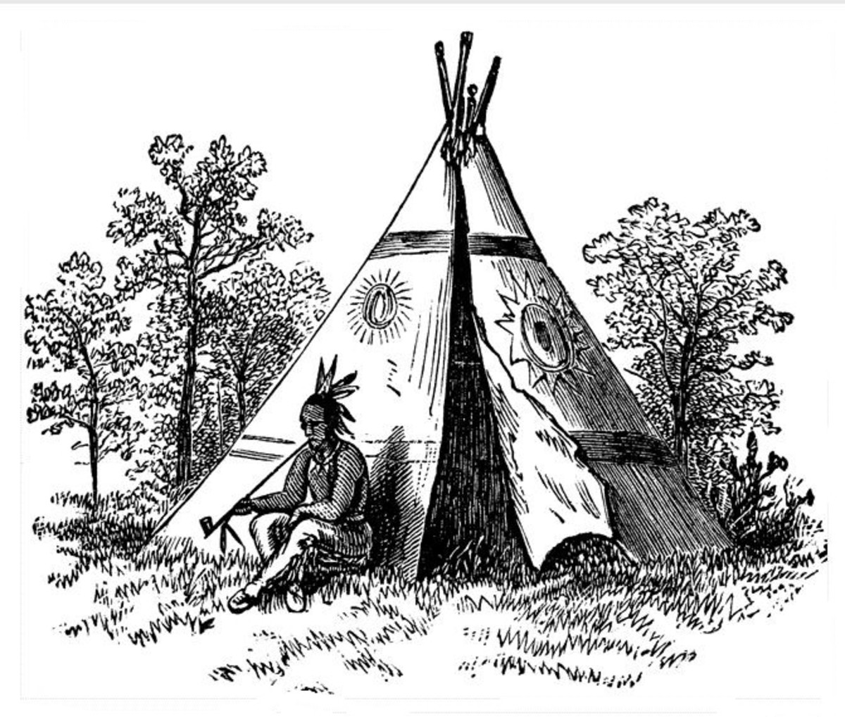 Native American Indian Coloring