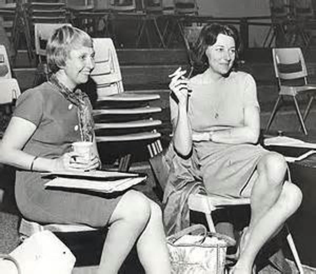 Maxine Kumin and Anne Sexton