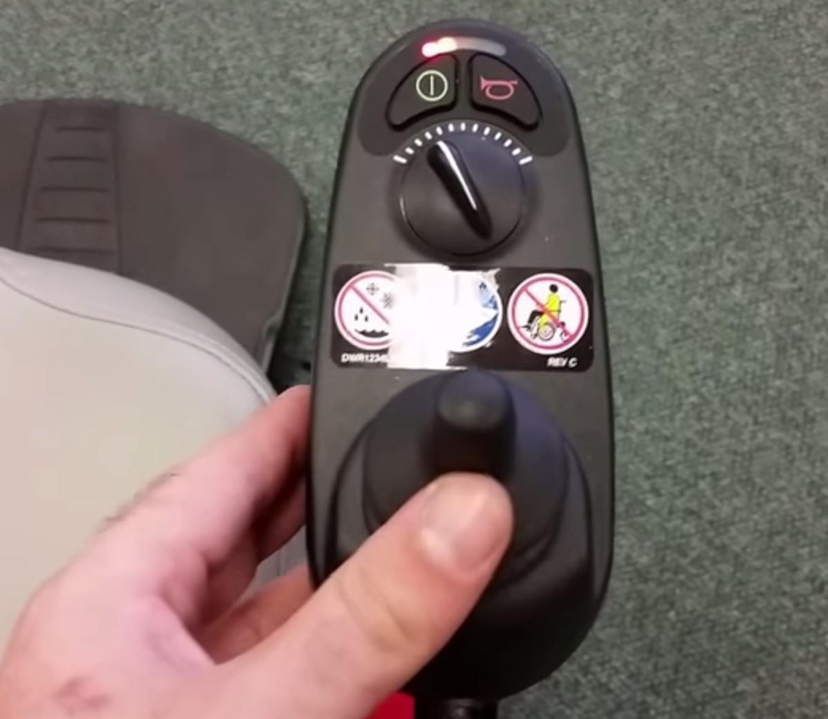 Unlocking a Joy Stick For a Drive Power Wheelchair