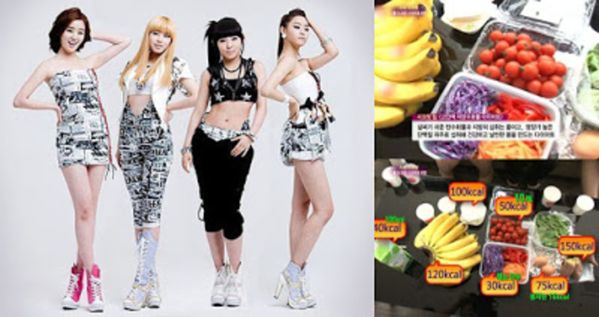 female korean celebrities diet secret