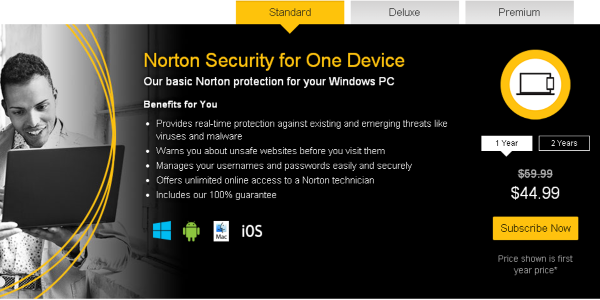 Norton Security for 1 device