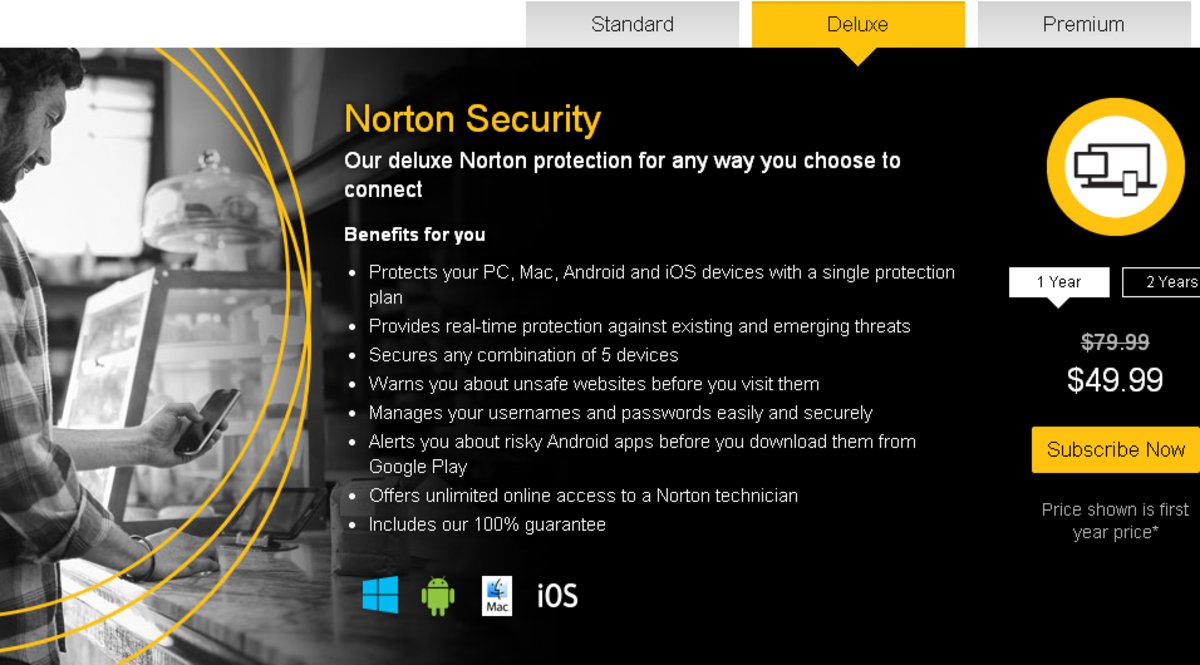 Norton Security for 5 device