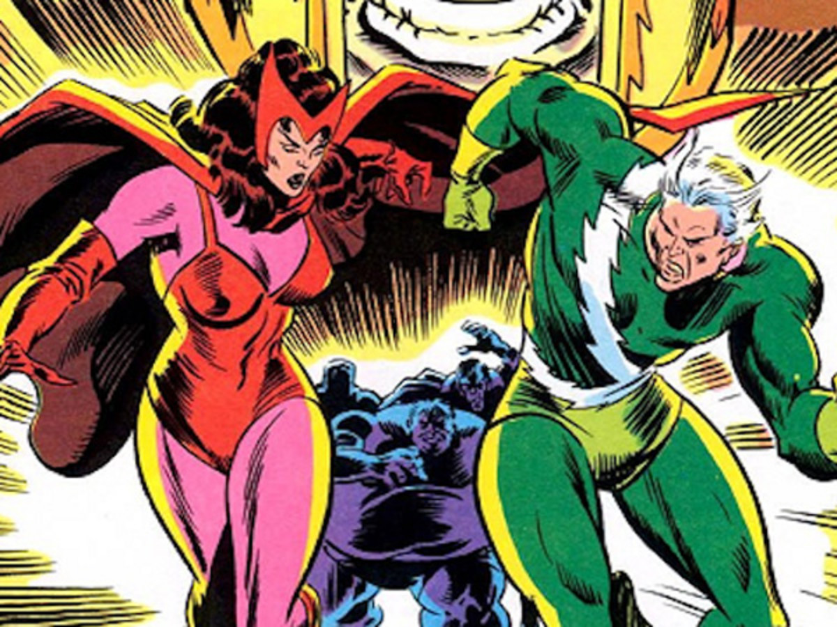 Sister and Brother, The Scarlet Witch and Quicksilver