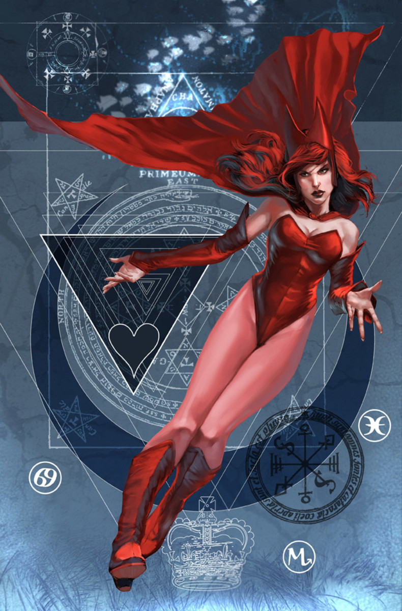 Who is the Scarlet Witch?