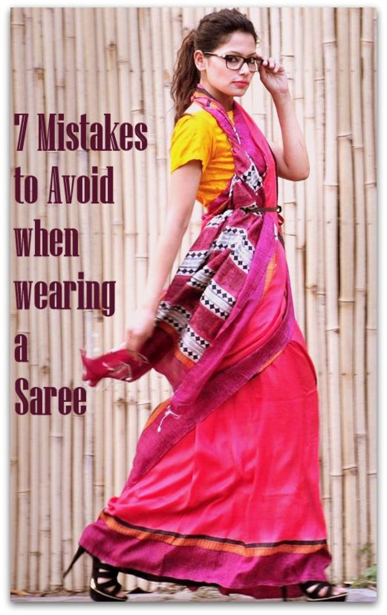 7 Mistakes to Avoid when wearing a Saree