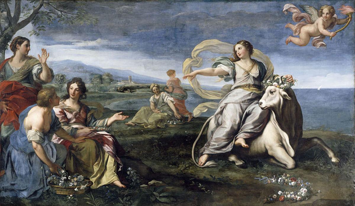 Danae mythology