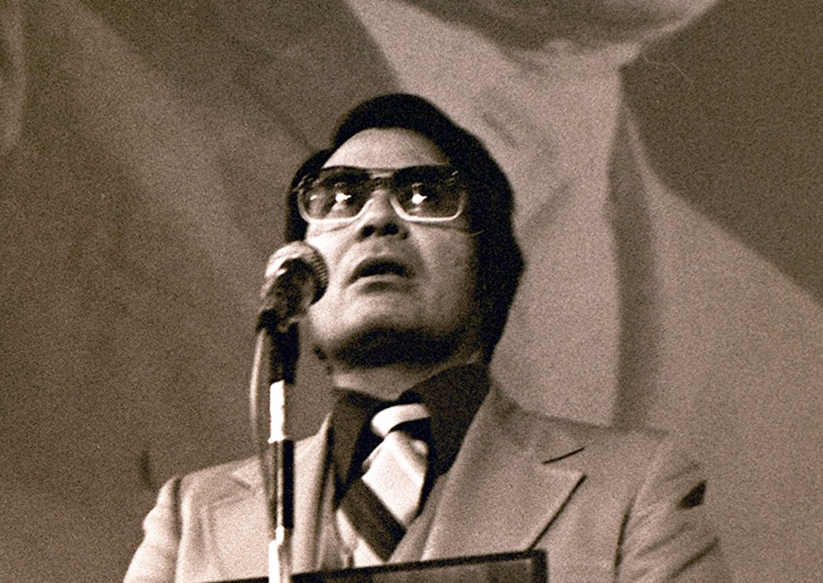 Jim Jones creator of the People's Temple and the force behind the 1978 murder/suicide of over 900 people