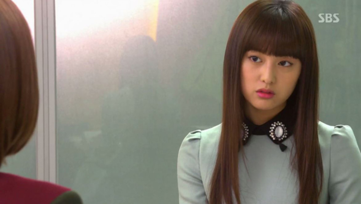 Kim Ji-won as Rachel Yoo in The Heirs