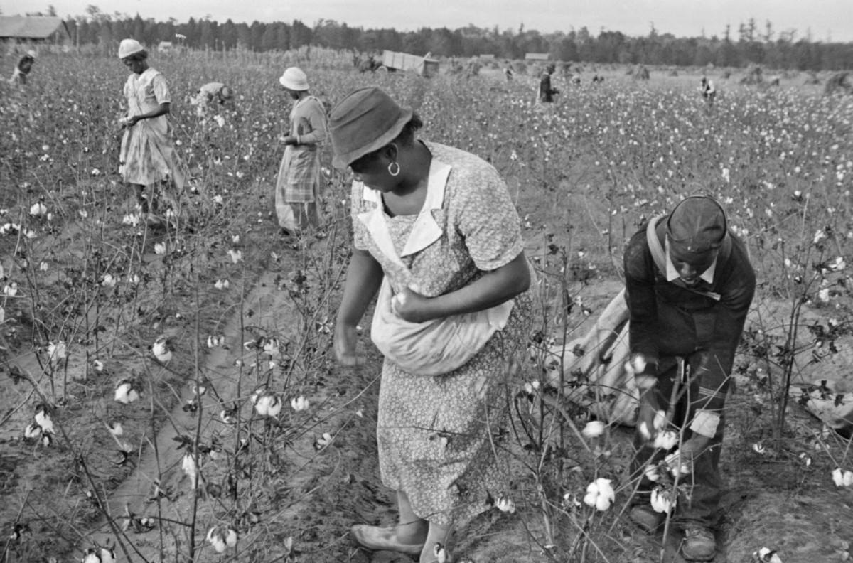 Alexander Plantation in Pulaski County, Arkansas, 1935.