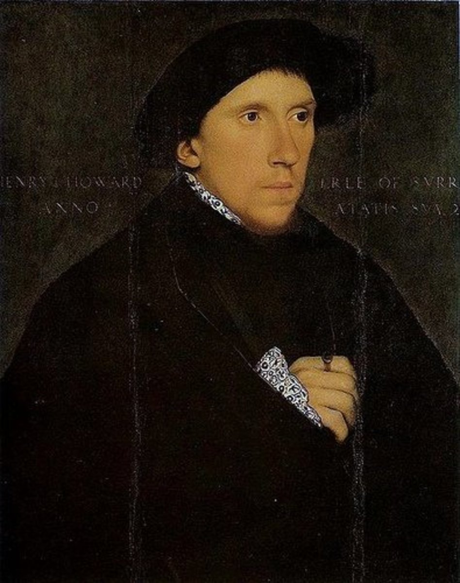 Henry Howard, son of the Duke of Norfolk, descended through Lancastrian bloodline
