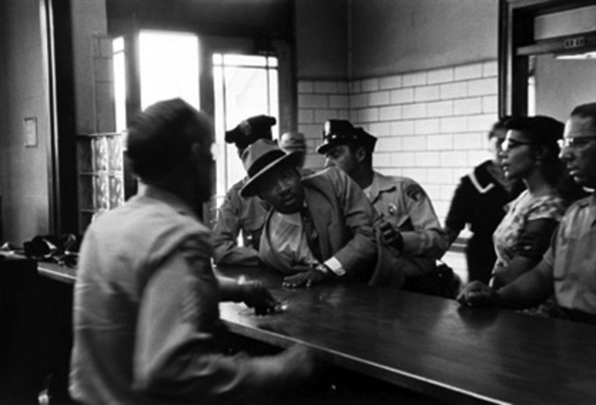 In the 1950's, people who loitered were arrested and booked.
