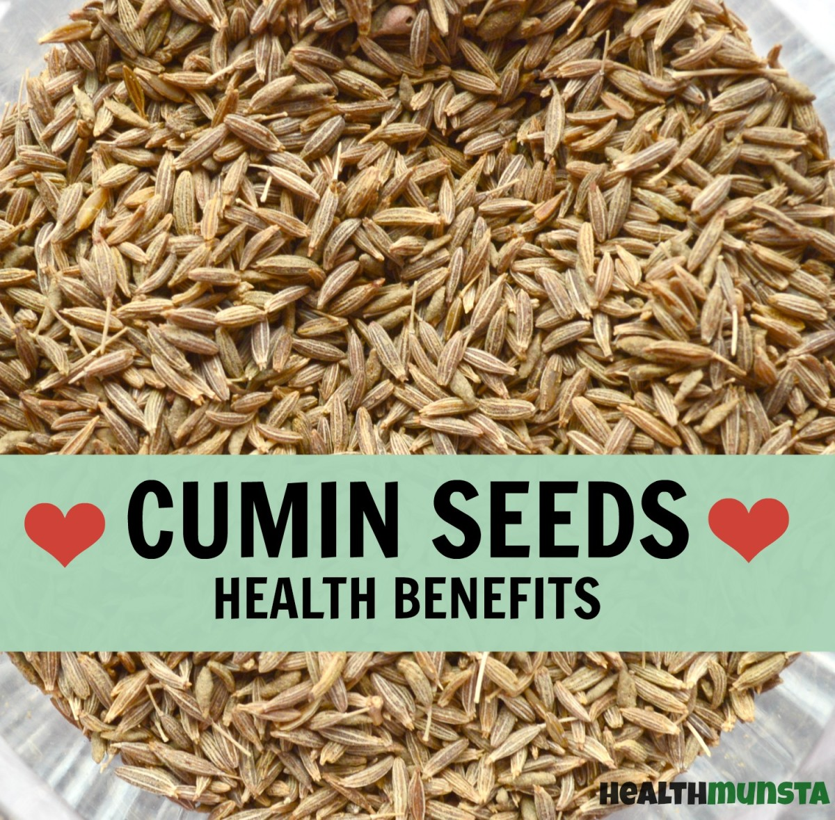 Cumin seeds have a wide variety of medicinal values and benefits!
