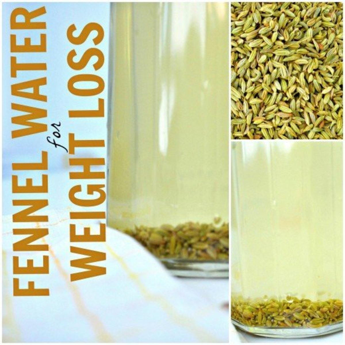 Learn how to use fennel seed water for weight loss here.