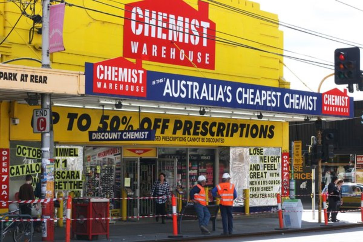 Chemist Warehouse, Australia