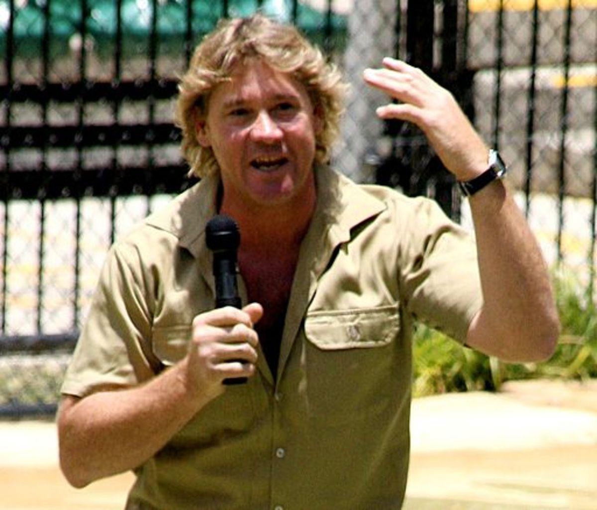 "Steve Irwin ""The Crocodile Hunter"""
