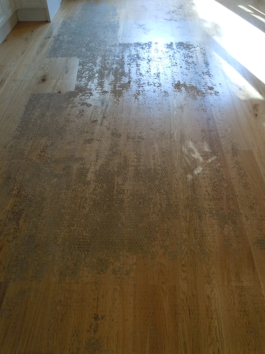 A Guide for Removing Adhesive from Hardwood Flooring