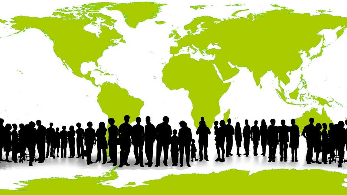 Globally, humans can succeed by working together