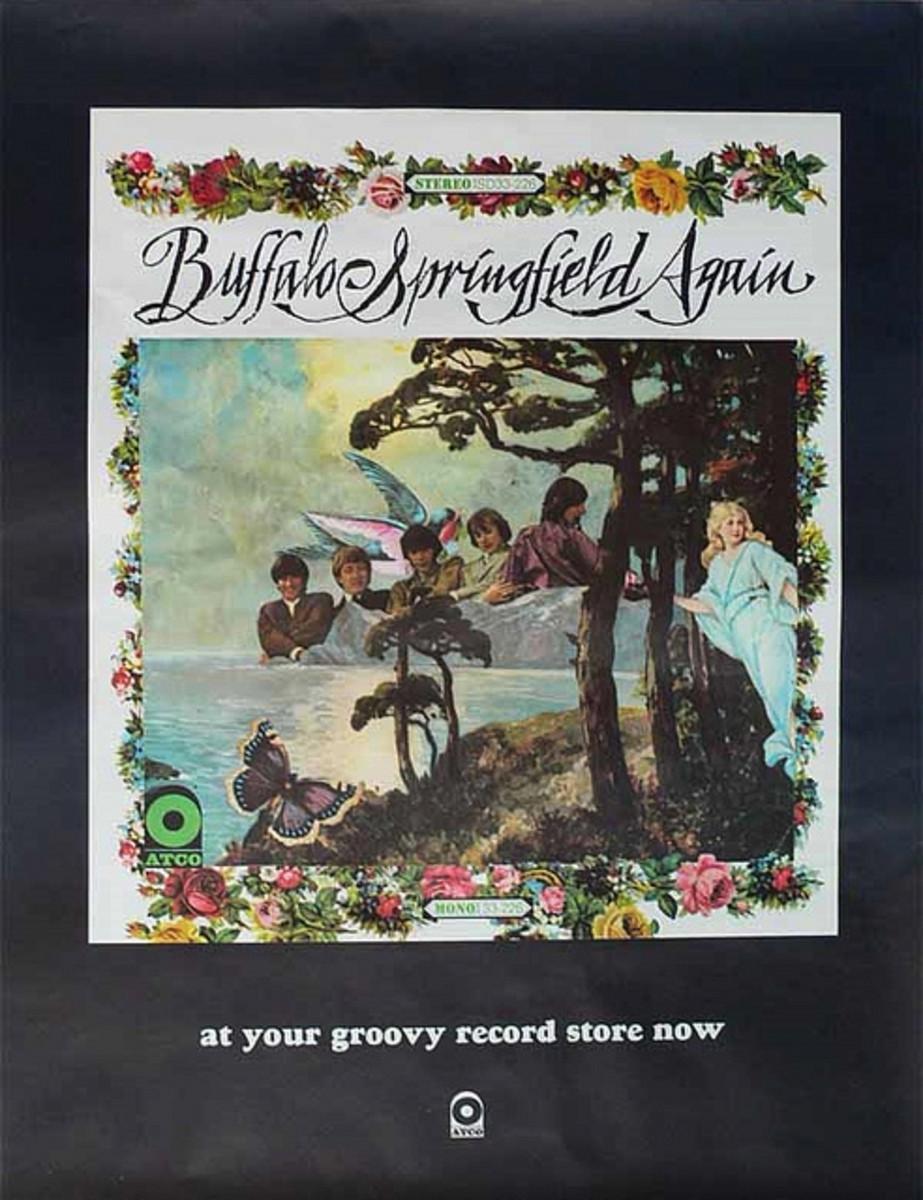 "Buffalo Springfield ""Buffalo Springfield Again"" Promotional Poster (1967)"