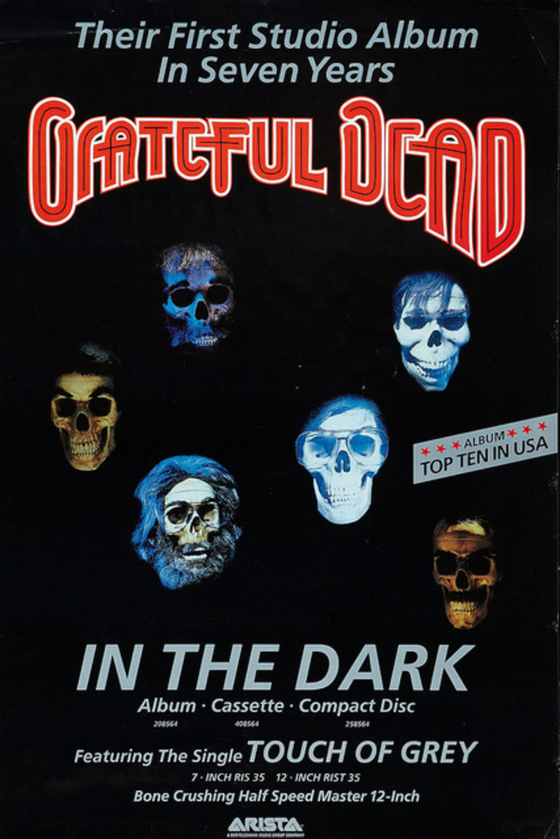 "The Grateful Dead ""In the Dark"" (1987)"