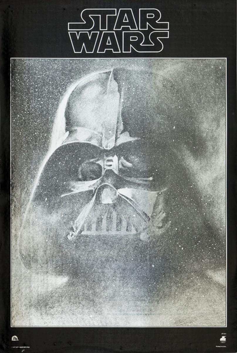 Star Wars 20th Century Fox Records 1977 Promo Poster