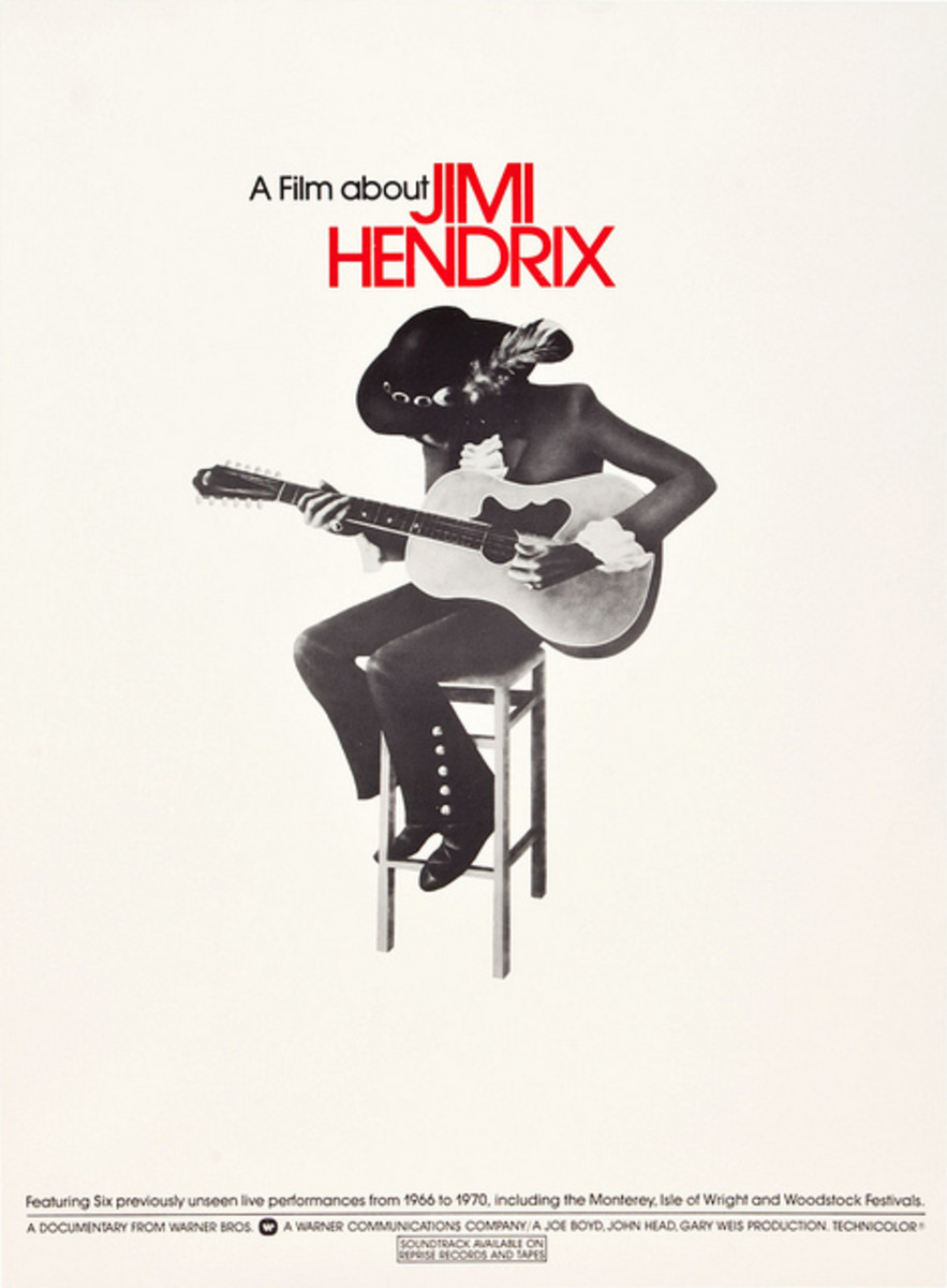 Jimi Hendrix a Warner Brothers Movie Soundtrack Available on Reprise Records