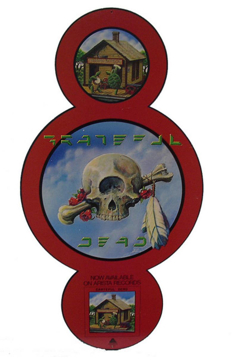 Terrapin Station   1977 Terrapin Station Skull