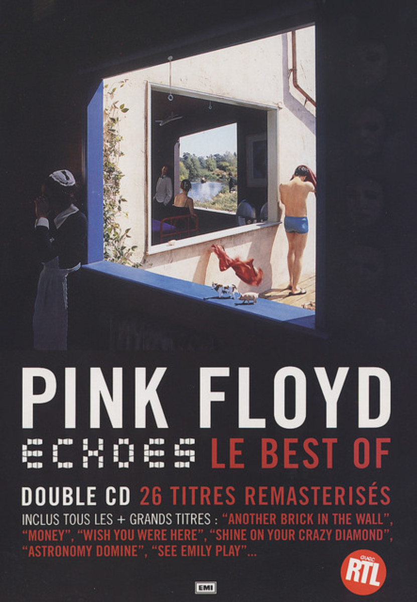Pink Floyd Echoes Promo Poster (2001) French In-Store Display