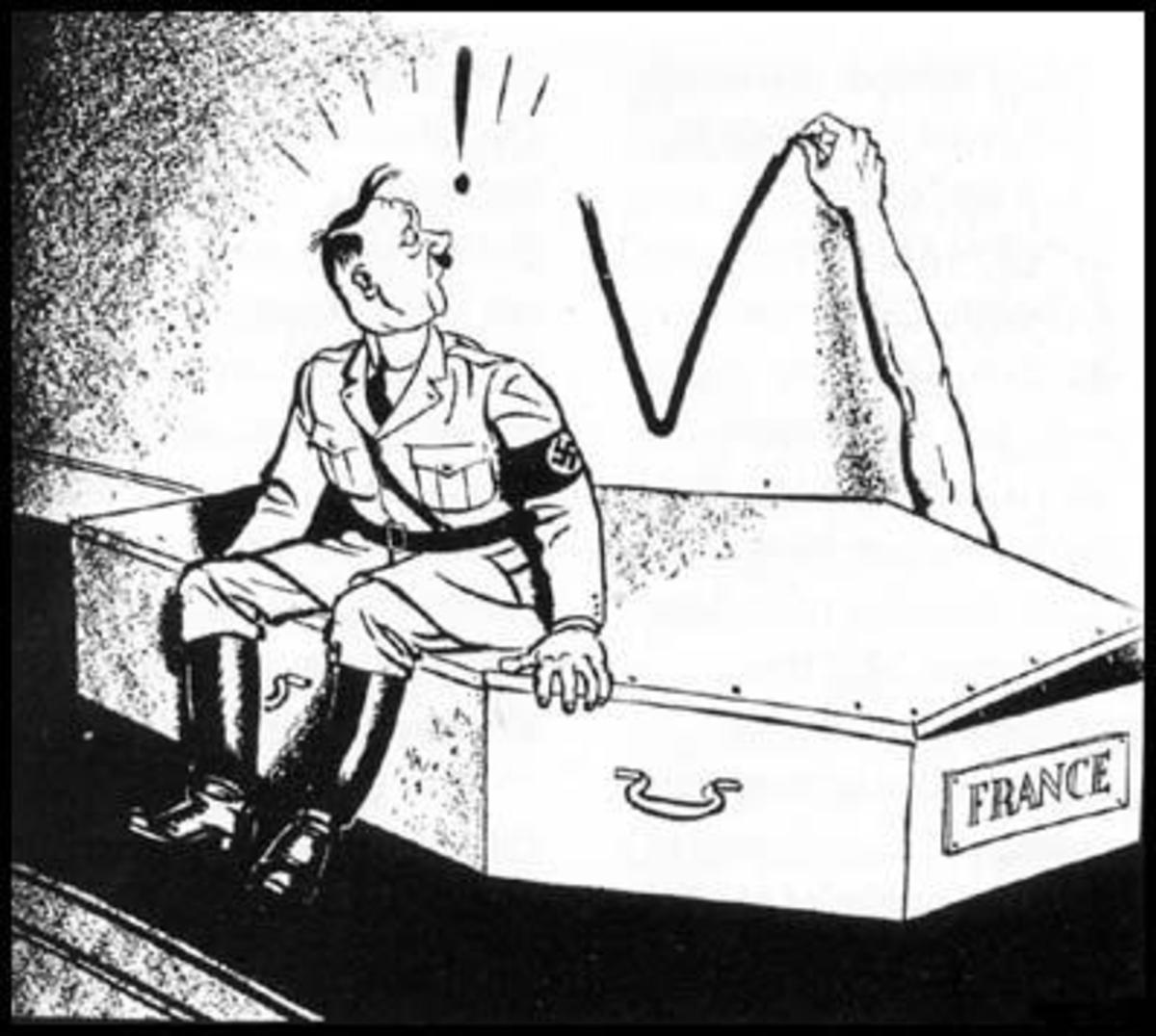 A Joke Showing The Existence Of French Resistance