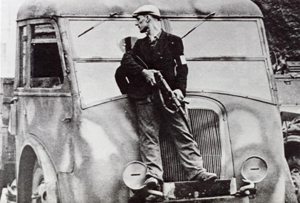 A Guerrilla Resistance Fighter