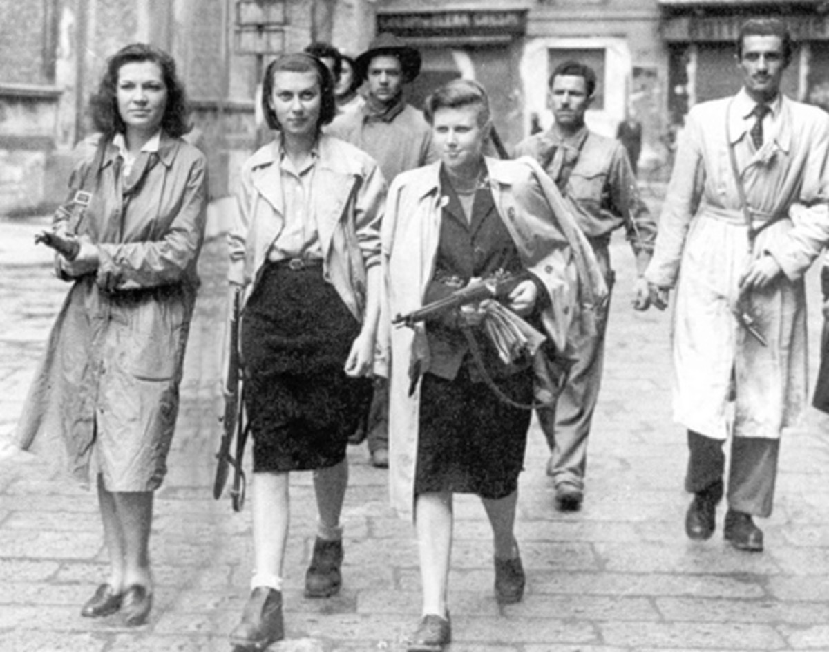 Women Resistance Fighters
